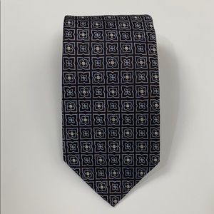 Brooks Brothers 100% Silk Floral Tie